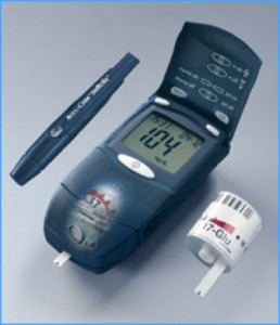 glucometer device